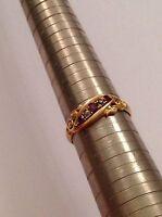 Attractive Fine Edwardian 18ct Gold Ruby & Diamond Set Ring - Birmingham 1914