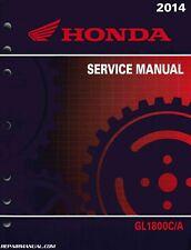 2014-2015 Honda GL1800 C A Valkyrie Motorcycle Service Manual : 61MJR01