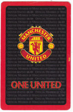 Manchester United.F.C. Football Club Single Playing Card