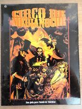 Libro Rol,Circo de Medianoche,Ed.La Factoria 2001