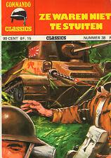 COMMANDO CLASSICS 38 - ZE WAREN NIET TE STUITEN (1976)