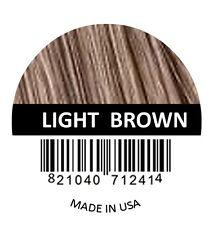 Samson Best Hair Loss Concealer Building Fibers LIGHT BROWN 25g Refill Made USA