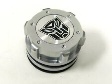 JETTA GOLF PASSAT TRANSFORMER AUTOBOT BILLET ALUMINUM RACING OIL FILLER CAP