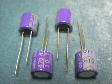 4 pcs of 10V 470uF SANYO SP Audio Aluminum solid Capacitor