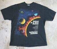Vintage 90s National Air and Space Museum Smithsonian Art Tee (size L/XL) 2sided