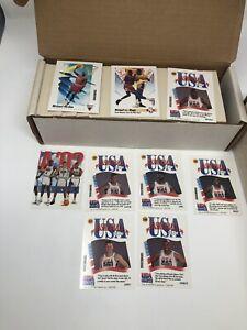 1991-92 Skybox Basketball Complete 659 Card Set #1-659 w/ Jordan Nice!