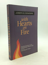 WITH HEARTS ON FIRE by Joseph G. Donders - 1999 - Reflections on Jesus, Catholic