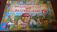 NEW SEALED GRIDDLY HEADZ BASEBALL BOARD GAME VANCOUVER CANADIANS EDITION RARE