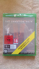 Metal gear solid 5 Promotional Xbox One / neuf sous blister / new sealed / rare