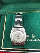 Rolex Bubbleback 2940 Watch With Original Band Circa 1945
