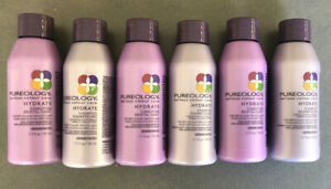 Pureology Hydrate Shampoo and Conditioner 1.7 oz (6 pack)