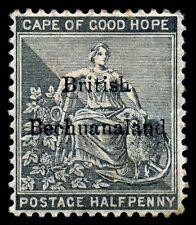 British Bechuanaland. 1885. 1/2d. Black. SC# 5. SG 4. MH. VF
