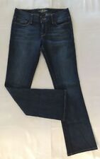 LUCKY BRAND  jeans size 4 Lola Boot Dark Wash EUC NICE COLOR WASH
