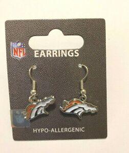 Denver Broncos NFL Dangle Earrings