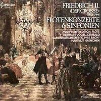 Friedrich II. (Der Große): Flötenkonzerte und Sinfonien vo... | CD | Zustand gut