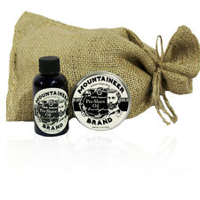 Mountaineer Brand® Pre-Shave Oil/Post-Shave Balm Combo (Eucalyptus)