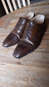 Moreschi Mens Leather Shoes UK Size 8