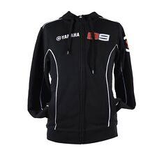 New Official Jorge Lorenzo No.99 Yamaha Black Hoodie - 14 21206