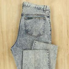vtg 80's 90's SASSON acid wash distressed jeans 36 x 28 (36 x 32 tag) aesthetic