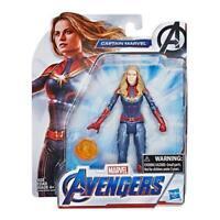 """Avengers Marvel Endgame Captain Marvel 6""""-Scale Figure"""