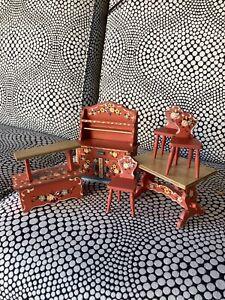 Dora Kuhn Dollhouse Furniture Set Of 7 Pc