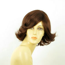 short wig for women dark brown copper ref MARION 31 PERUK