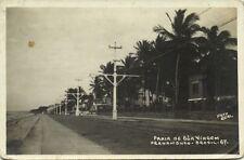 brazil, PERNAMBUCO, Praia de Boa Viagem (1920s) RPPC