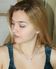 Kate Spade Sparkling Bow Mini Pendant Necklace W Dust Bag O0ru1594