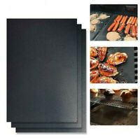 3 Packs Easy BBQ Grill Mat Pad Non Stick Barbecue Bake Cooking Mat Chef Reusable