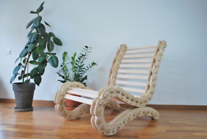Roll Up Lounge Chair Classic Design Very Good Shape