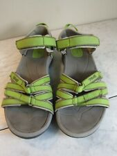 Teva Women's Tirra Sandal Lime Green Size 7 EU 38 Comfort Performance