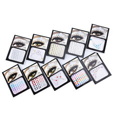 1pc diamond eyeshadow face sticker crystal eyes tattoo sticker  eyes makeup DSUK