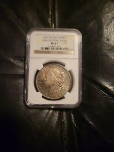 1891 CC Carson City Morgan Silver $1 Dollar NGC MS 61