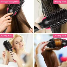Hair Dryer, Hot Air Brush, and Volumizer Styler, Fully rotating wire power cord.
