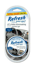 Refresh Your Car 2.5 oz Scented Gel Air Freshener - New Car Scent