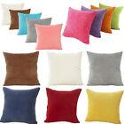 Home Decor Pillow Case Corn Corduroy Sofa Car Waist Throw Backrest Cushion Cover