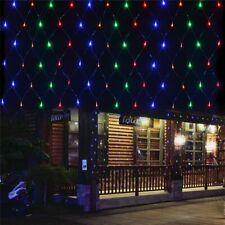 LED Net Christmas Lights 3Mx2M 204LEDS AC110V/220V Led Mesh led Net Lights