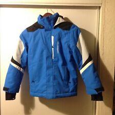 NICE! Obermeyer Blue Teen Youth Snow Ski Snowboard jacket Sz Teen S Small (8)