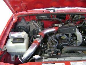 BCP RED 95-97 Ford Ranger Mazda B2300 2.3L L4 Short Ram Air Intake + Filter