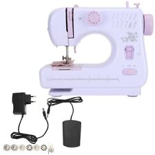Portable Electric Sewing Machine Double Speed 12 Stitches Household Tailor