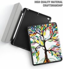 For Apple iPad 9.7 2018 inch Tablet Model Folio Case Cover Stand Lucky Tree