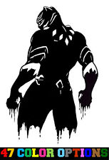 Vinyl Decal Truck Car Sticker Laptop - Marvel Comics Avengers Black Panther v3