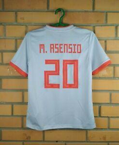 Aesensio Spain Jersey 2019 Youth 11-12 Away Shirt BR2694 Soccer Adidas Trikot