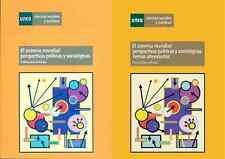 UNED El Sistema Mundial: Perspectivas Políticas y Sociológicas, 2X1, eBook, 2010