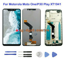 For Motorola Moto One/P30 Play XT1941 LCD Touch Screen Display Digitizer + Frame