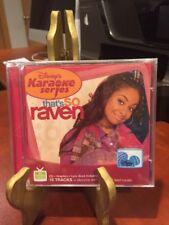 DISNEY KARAOKE - That's So Raven  (CD, 2005) CD,Graphis,Lyric Book/Mfg. Sealed
