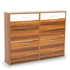 Shoe Cabinet Organizer Storage Rack 1200 X 240 X 920 - Brown