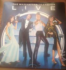 MANHATTAN TRANSFER - Live 1978 Vinyl LP - Atlantic K50540
