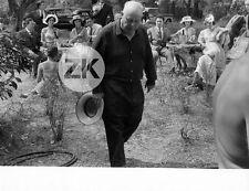 JEAN RENOIR Auguste LE DEJEUNER SUR L'HERBE Impressionniste Tournage Photo 1959