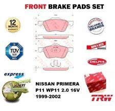 Für Nissan Primera P11 WP11 2.0 16V 1999-2002 Vorderachse Bremsbeläge Satz